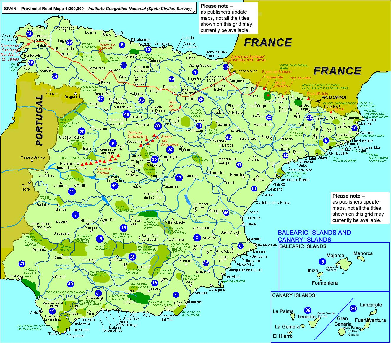 Map Of Spain Mainland.Map Of Mainland Spain Map Of Spain Mainland Southern