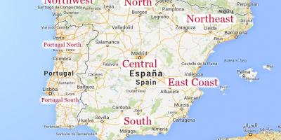 Map Of North Spain Coast.Map Of Northern Spain Map Of Northern Spain With Cities Southern